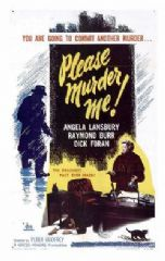 Please Murder Me 1956 DVD - Angela Lansbury / Raymond Burr